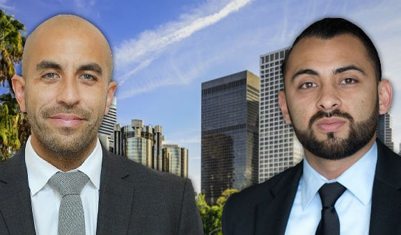 San Bernardino lawyers Jason Martinez and Michael Recinos